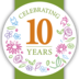We're celebrating our 10th Anniversary!