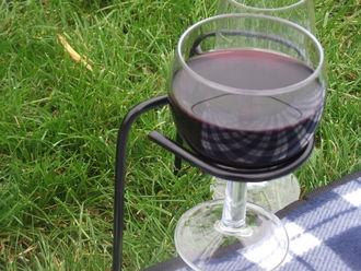 Picnic Wine Glass holder pack of 4 G0004