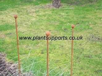 Iron Plant Stake Pack of 3 102cm high