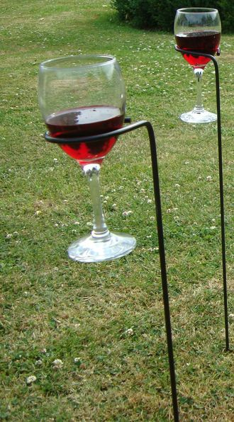 Wine Glass Holder 75cm high G0003 Pack of 4