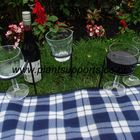 Picnic Wine Glass holder pack of 4